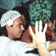 Avatar Adi Da with devotees in California in 1974